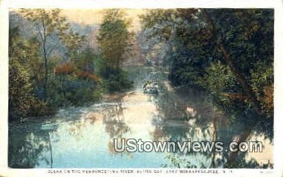Merrymeeting River - Lake Winnipesaukee, New Hampshire NH Postcard