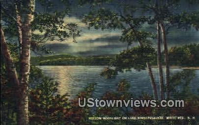 Lake Winnipesaukee, NH, New Hampshire Postcard
