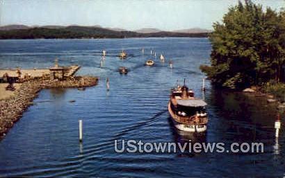 Uncle Sam Mail Boat - Lake Winnipesaukee, New Hampshire NH Postcard