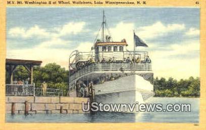 M.V. Mt. Washington II - Lake Winnipesaukee, New Hampshire NH Postcard
