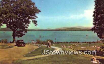 Endicott Park - Lake Winnipesaukee, New Hampshire NH Postcard