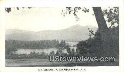 Mt. Chocorua  - Lake Winnipesaukee, New Hampshire NH Postcard
