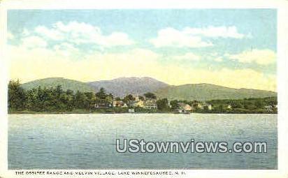 The Ossipee Range - Lake Winnipesaukee, New Hampshire NH Postcard
