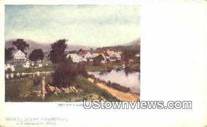 Melvin Village - Lake Winnipesaukee, New Hampshire NH Postcard