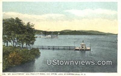 Steamer Mt. Washington - Lake Winnipesaukee, New Hampshire NH Postcard