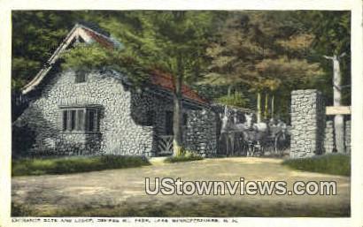 Ossipee Mt. Park - Lake Winnipesaukee, New Hampshire NH Postcard