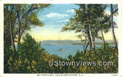 Wolfeboro Bay - Lake Winnipesaukee, New Hampshire NH Postcard