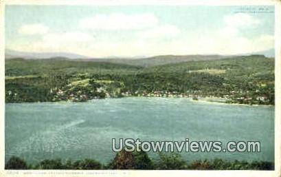 Meridith Bay - Lake Winnipesaukee, New Hampshire NH Postcard