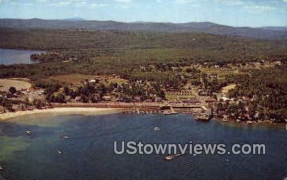 The Weirs Beach - Lake Winnipesaukee, New Hampshire NH Postcard