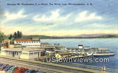 Steamer Mt. Washington II - Lake Winnipesaukee, New Hampshire NH Postcard