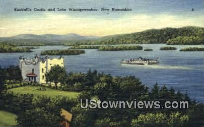 Kimball's Castle - Lake Winnipesaukee, New Hampshire NH Postcard