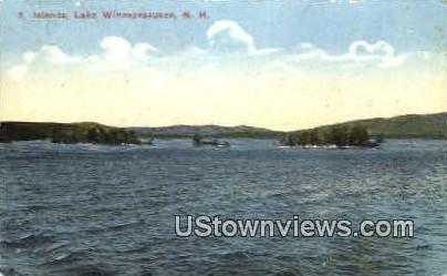 Five Islands - Lake Winnipesaukee, New Hampshire NH Postcard