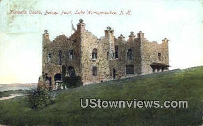 Kimball's Castle - Lake Winnipesaukee, New Hampshire NH Postcard