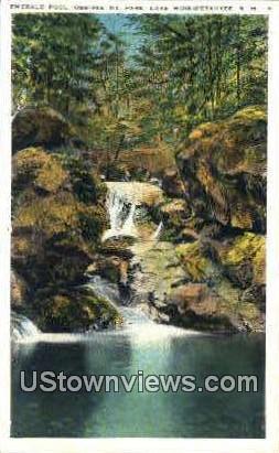 Emerald Pool - Lake Winnipesaukee, New Hampshire NH Postcard