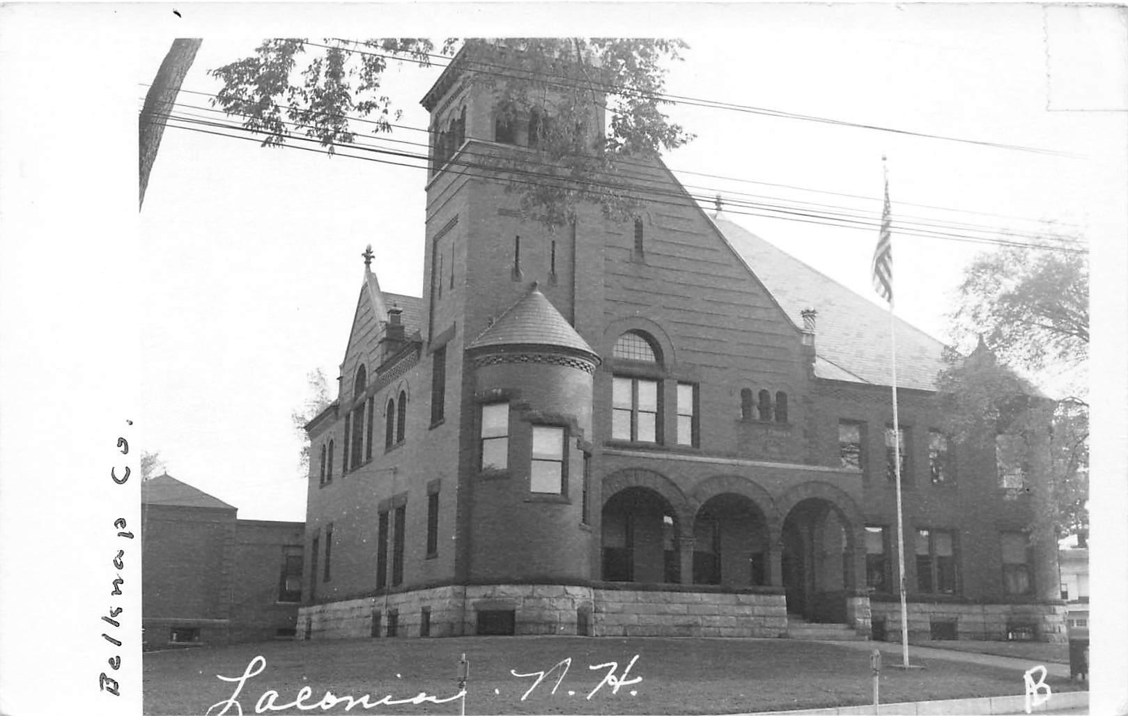 Building - Laeonia, New Hampshire NH Postcard