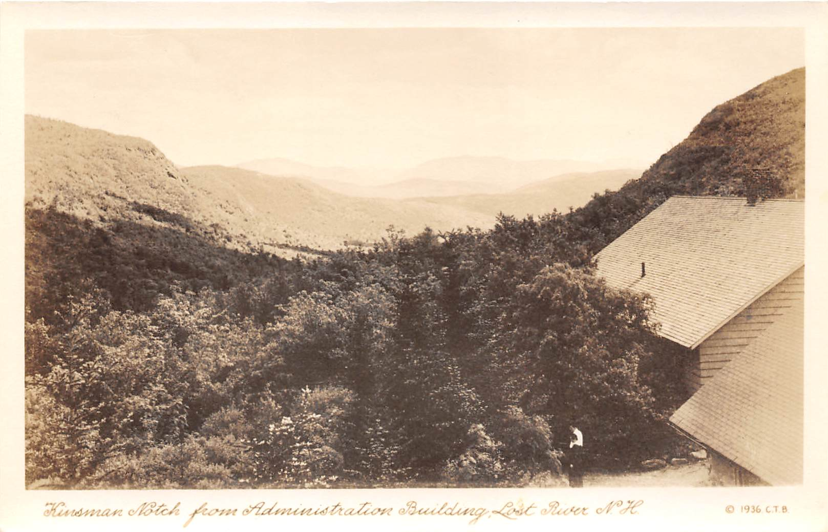 Kinsman Notch - Lost River, New Hampshire NH Postcard