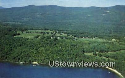Bald Peak Colony Club - Melvin Village, New Hampshire NH Postcard