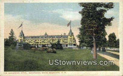 The Maplewood Hotel - New Hampshire NH Postcard