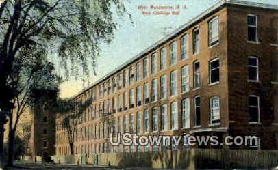 Coolidge Mill - West Manchester, New Hampshire NH Postcard