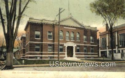 Court House - Manchester, New Hampshire NH Postcard