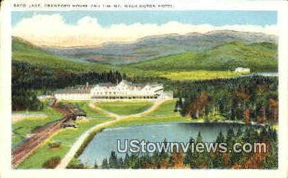 The Mt. Washington Hotel - Mount Washington, New Hampshire NH Postcard