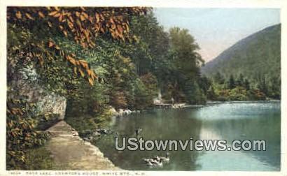Saco Lake, Crawford House - White Mountains, New Hampshire NH Postcard