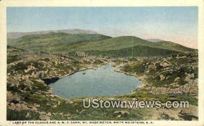 Lake of the Clouds - Mount Washington, New Hampshire NH Postcard