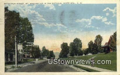 Bethlehem St. - White Mountains, New Hampshire NH Postcard