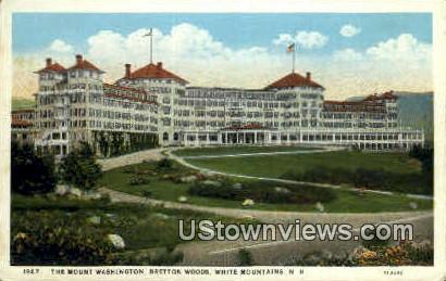 The Mount Washington - New Hampshire NH Postcard