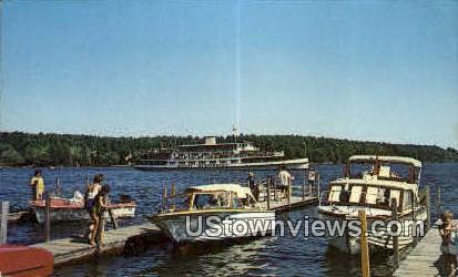 The M.V. Mount Washington - Lake Winnipesaukee, New Hampshire NH Postcard
