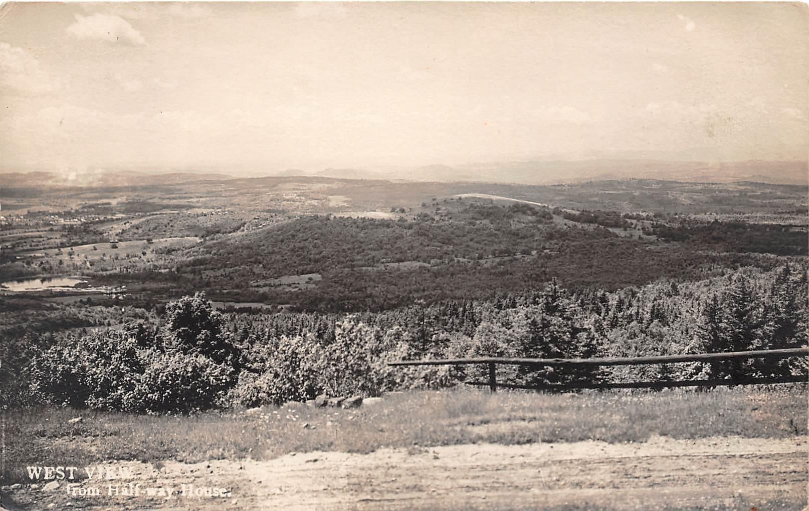 Halfway House - Misc, New Hampshire NH Postcard