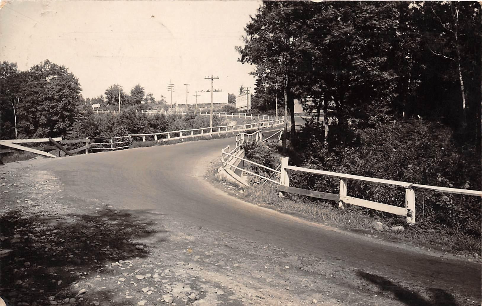 Raod - Misc, New Hampshire NH Postcard