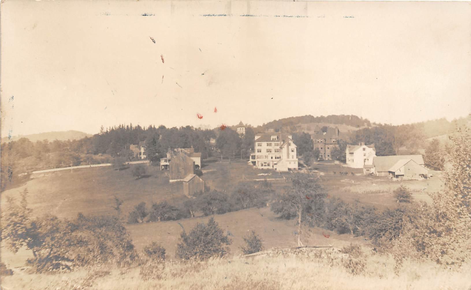 Birds Eye View - Misc, New Hampshire NH Postcard