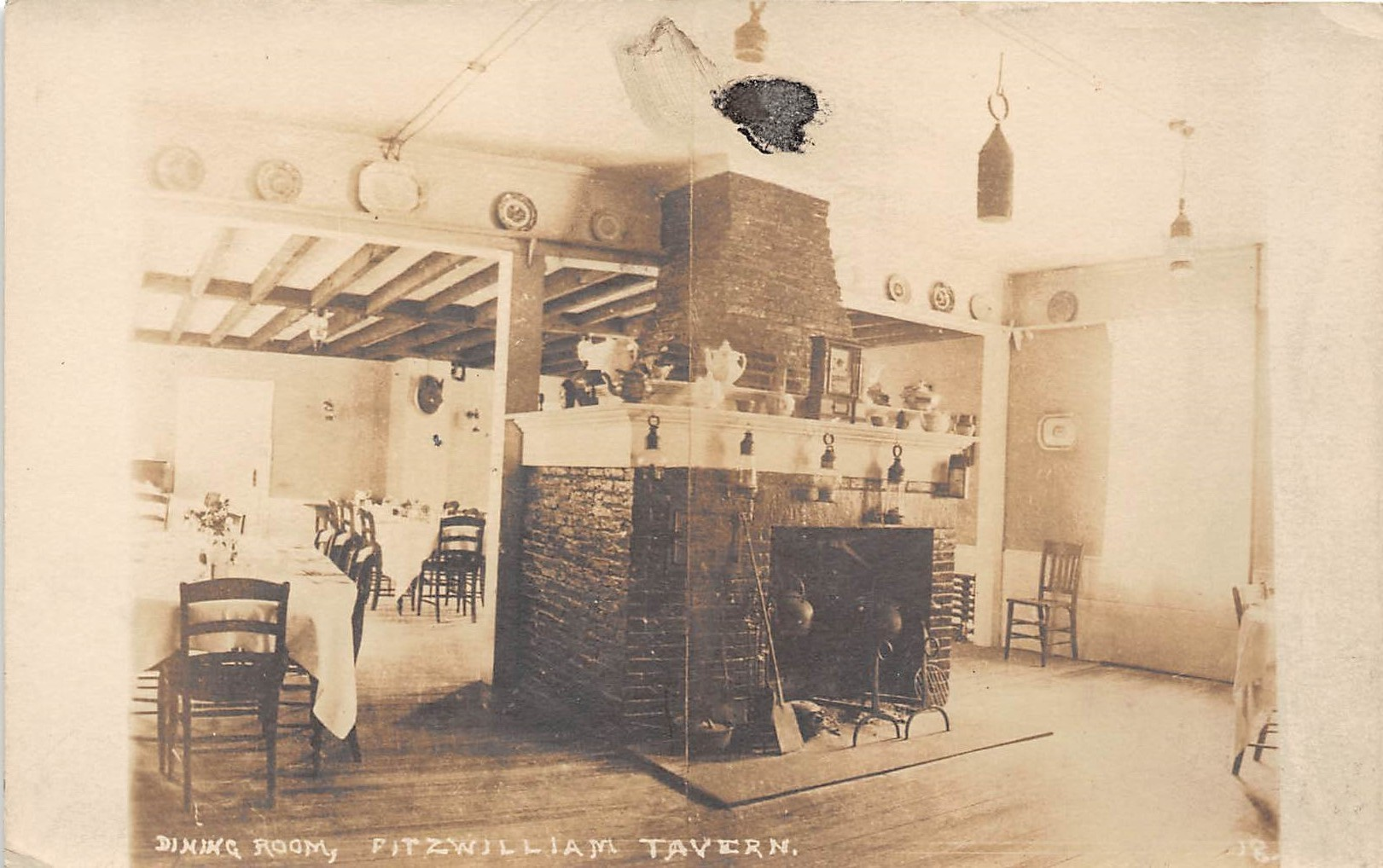 Dining Room - Misc, New Hampshire NH Postcard