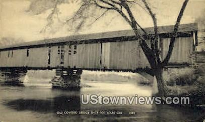 Old Covered Bridge - Misc, New Hampshire NH Postcard