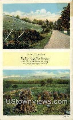 Misc, NH, New Hampshire Postcard