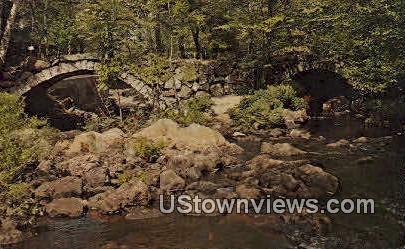 Stone Arched Bridge - Misc, New Hampshire NH Postcard