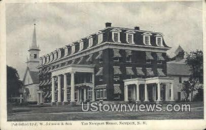 The Newport House - New Hampshire NH Postcard