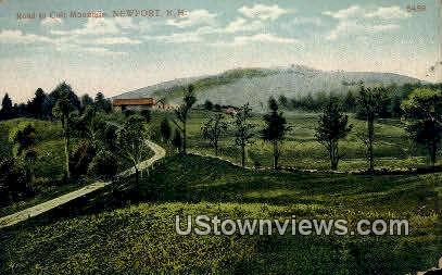 Colt Mountain - Newport, New Hampshire NH Postcard