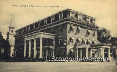 Host Gould's Newport House - New Hampshire NH Postcard