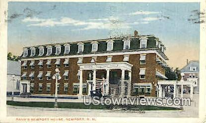 Rand's Newport House - New Hampshire NH Postcard