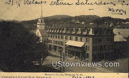 Newport House - New Hampshire NH Postcard