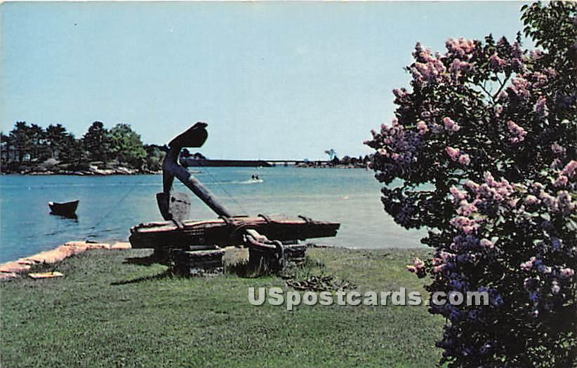 The Old Anchor - Portsmouth, New Hampshire NH Postcard