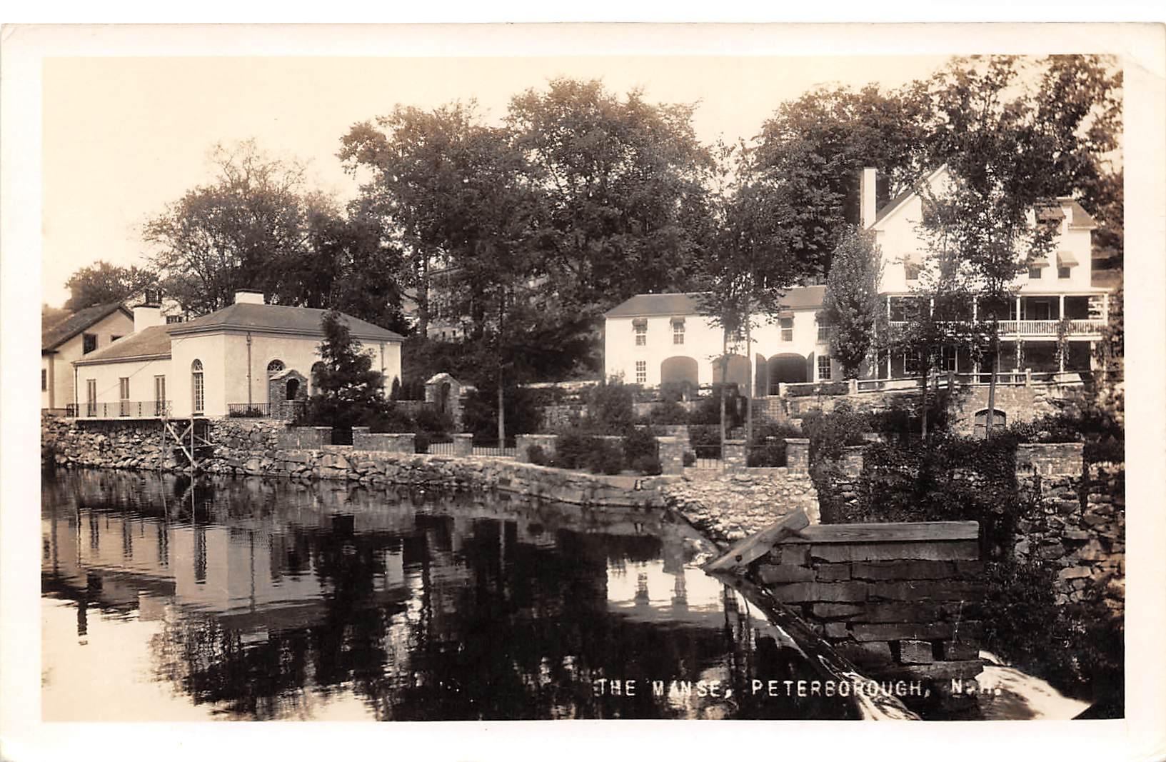 The Manse - Petersborough, New Hampshire NH Postcard
