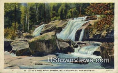 Diana's Bath, North Conway - White Mountains, New Hampshire NH Postcard
