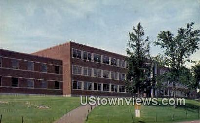 Kingsbury Hall, University of NH - Durham, New Hampshire NH Postcard