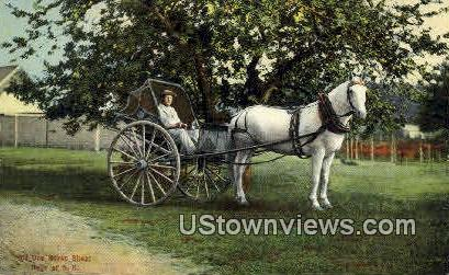 Old One Horse Shay - Misc, New Hampshire NH Postcard