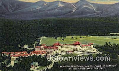 Mount Washington, Pres Range, Bretton Woods - White Mountains, New Hampshire NH Postcard