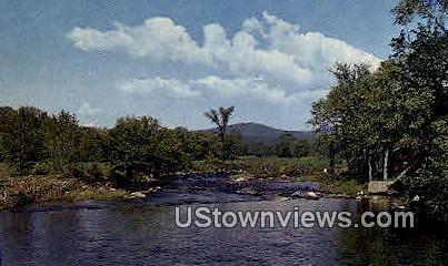 Israel's River - Lancaster, New Hampshire NH Postcard