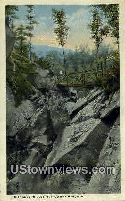 Lost River - White Mountains, New Hampshire NH Postcard